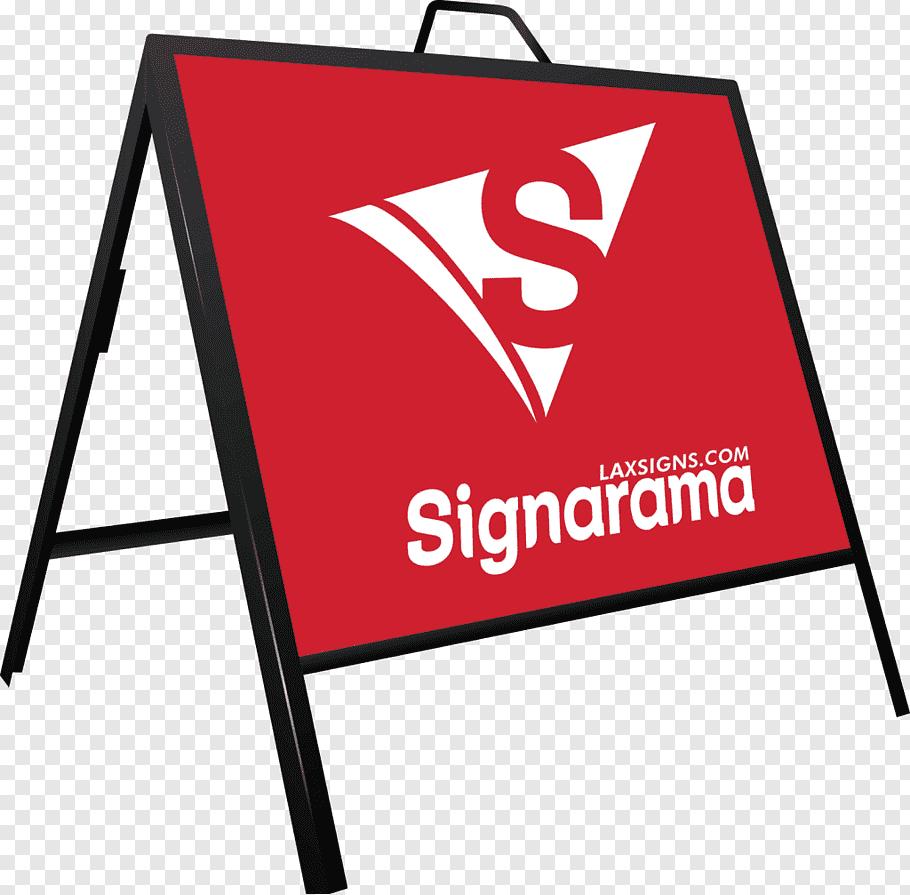 Business Banner, Signage, Sandwich Board, Logo, Signarama.