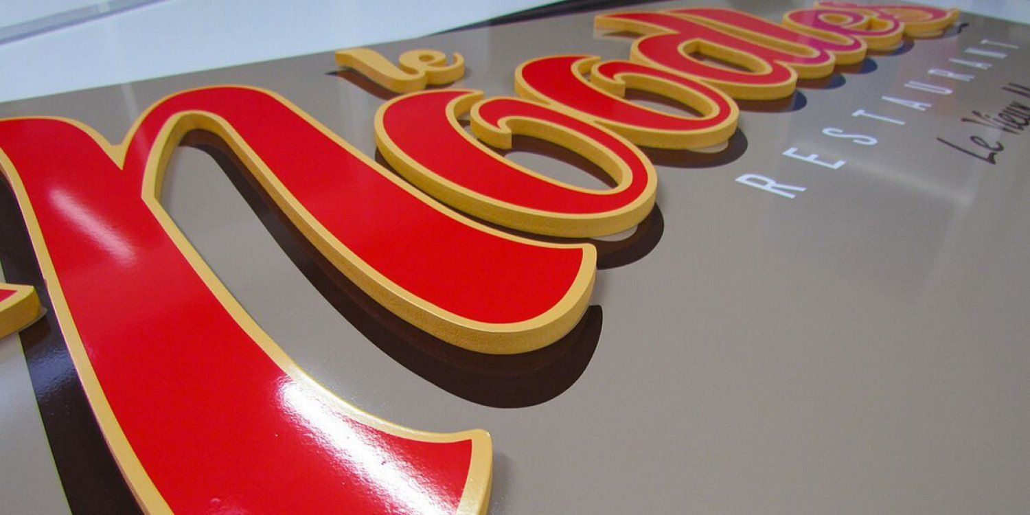 3D Signs & Lettering.