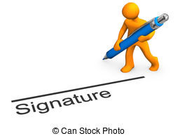 Signature Clipart.
