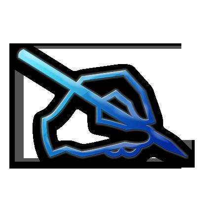 Pen Signature Clipart.