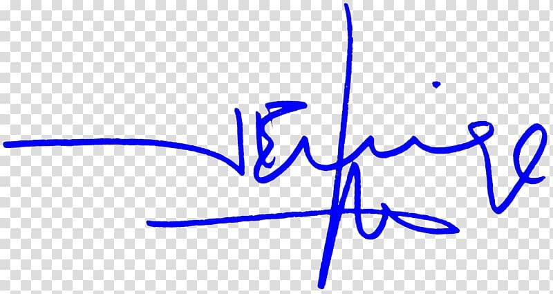 Navy blue Color Signature Graphology, order transparent.