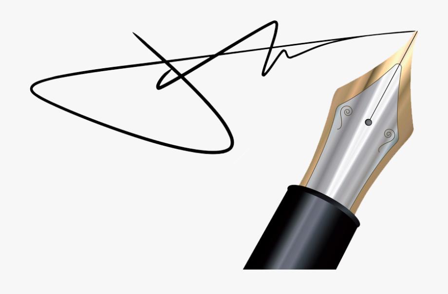 Pen Clipart Signature Pen.