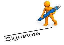 Email Signature Clipart.