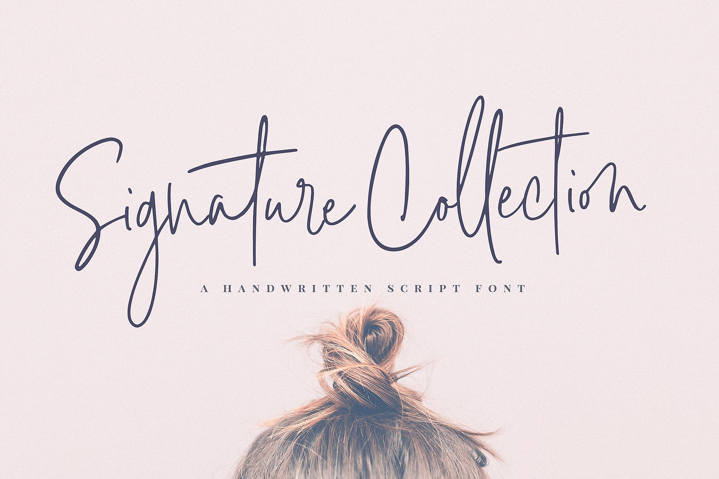 Signature Collection Script Font ~ Script Fonts ~ Creative.