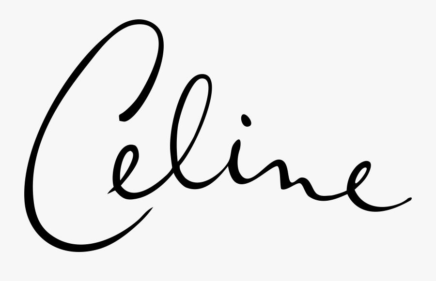Celine Dion Signature Logo Png Transparent & Svg Vector.
