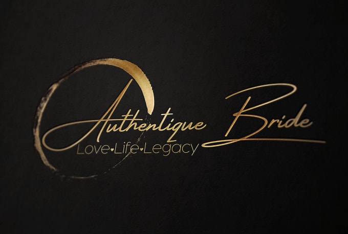 do modern and elegant signature logo design.