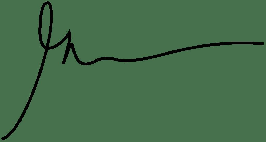 Gary Vee Signature transparent PNG.