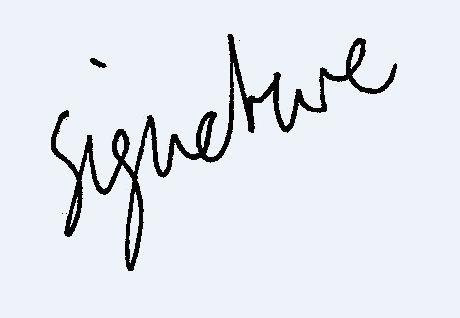 Make a Digital Signature, Use Less Paper: 5 Steps.