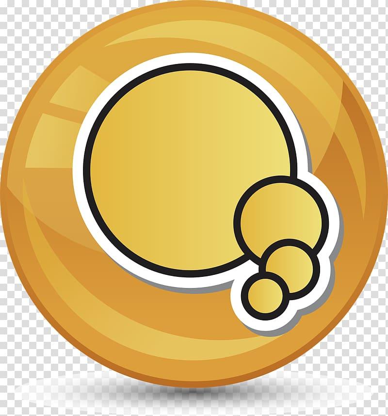 Speech balloon , signet transparent background PNG clipart.