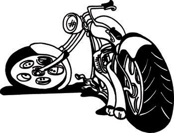 Bike & Motorcycle EPS Vector Sign Clipart General General.