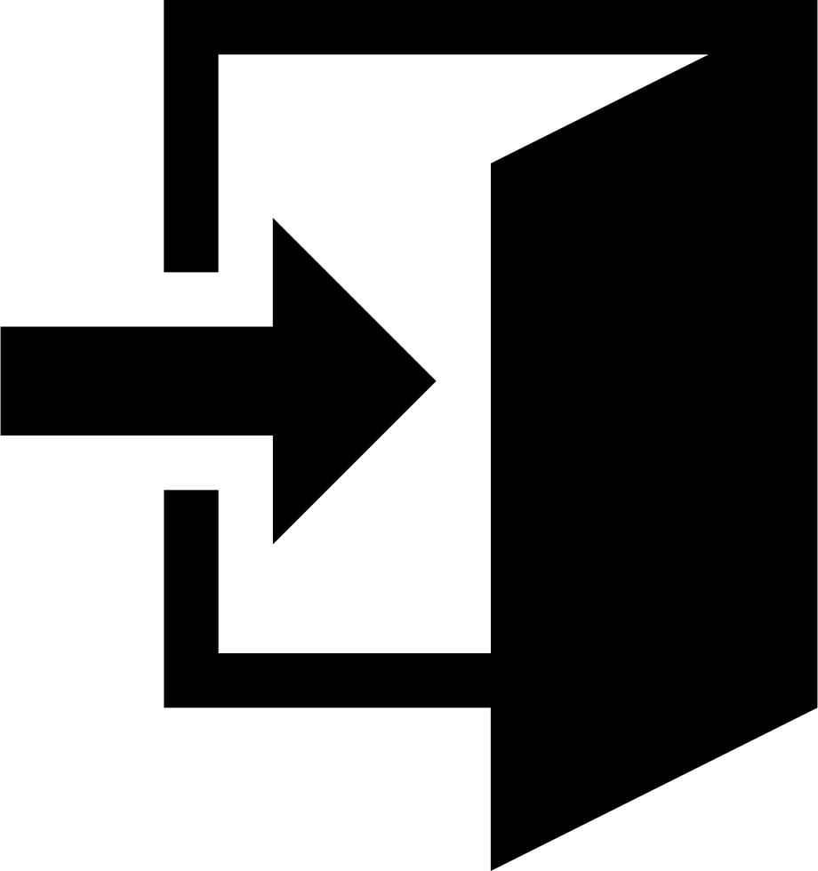 Enter Signin Login Svg Png Icon Free Download (#328.