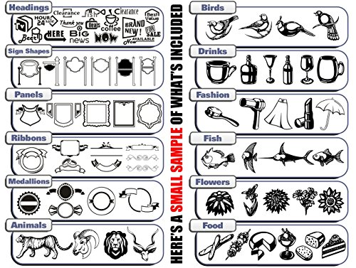 Sign Making Design Clipart.
