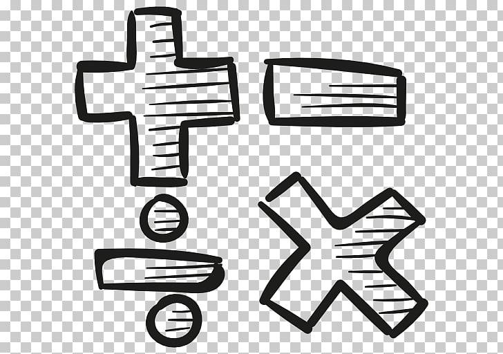 Notación matemática matemáticas signo de multiplicación.
