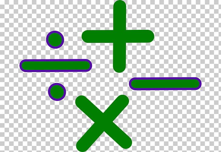Operación matemática notación matemática signo, signos.