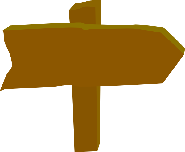 Sign Post Clipart.