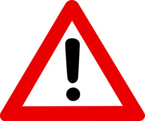 921 danger signs clip art free.