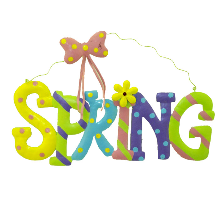 Signs Of Spring Clip Art.