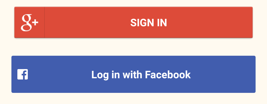 Social login buttons download free clipart with a.