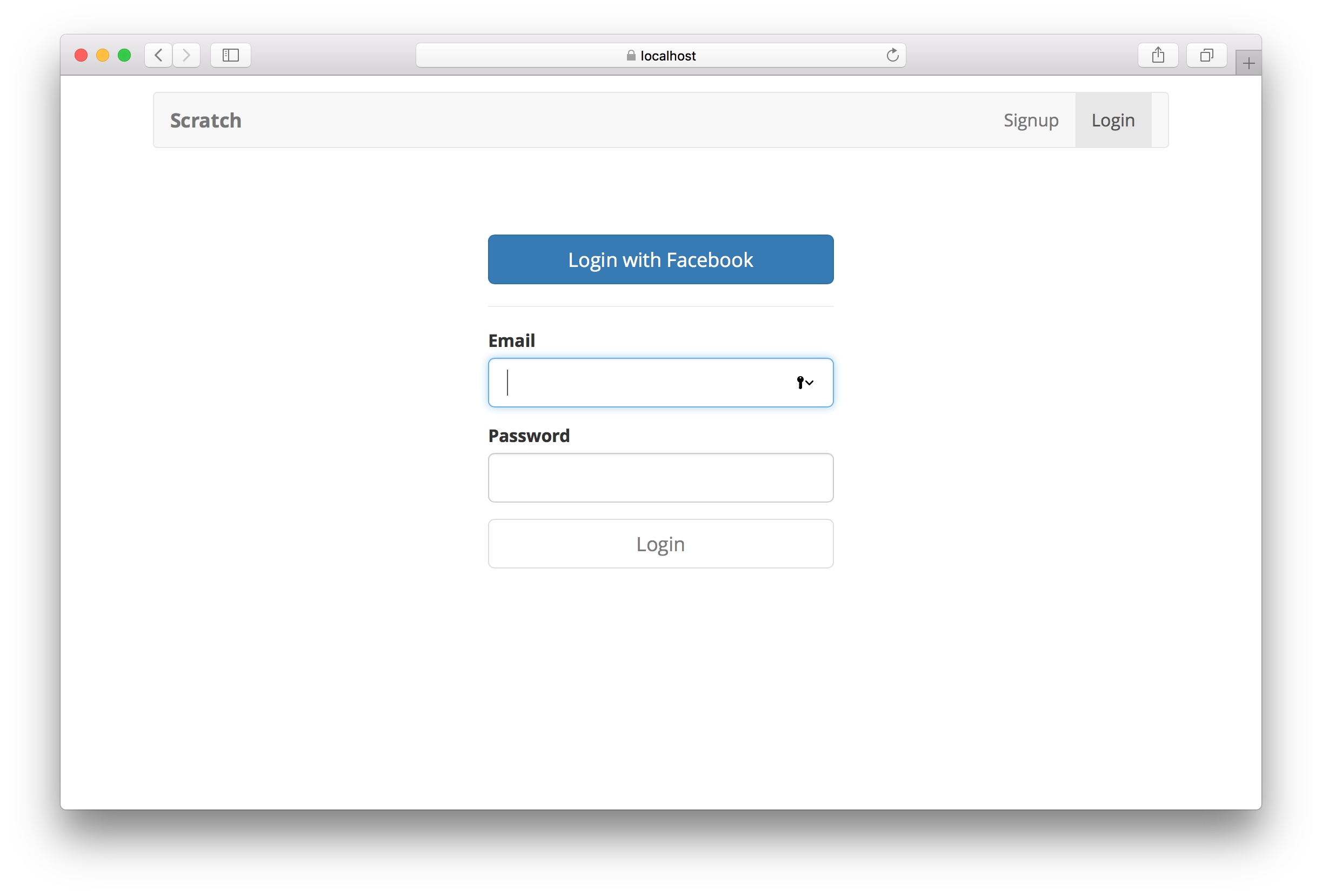 Facebook Login with Cognito using AWS Amplify.