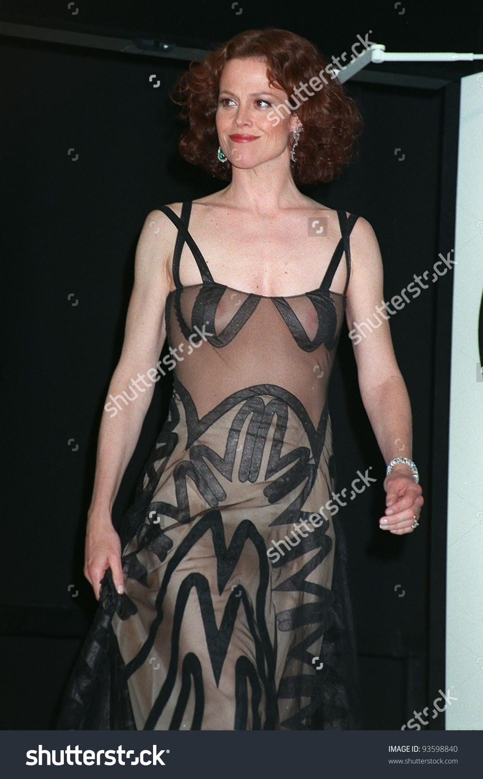24may98 Actress Cannes Jury Member Sigourney Stock Photo 93598840.