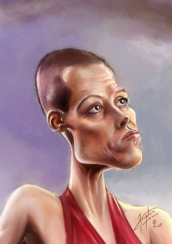 Sigourney Weaver by bogdancovaciu.deviantart.com on @deviantART.
