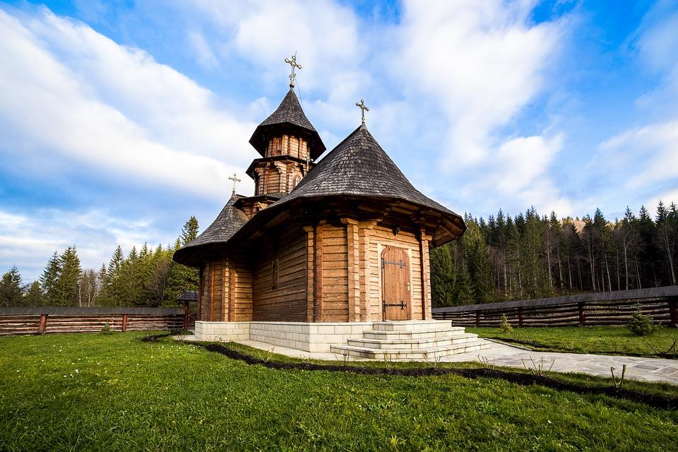 Free photo: Sihastria Monastery Putnei.