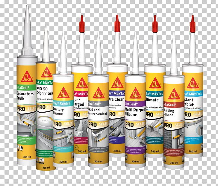 Sika AG Sealant Sika Everbuild Silicone Material PNG.