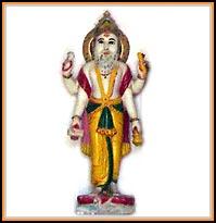 Vishwakarma god clipart.