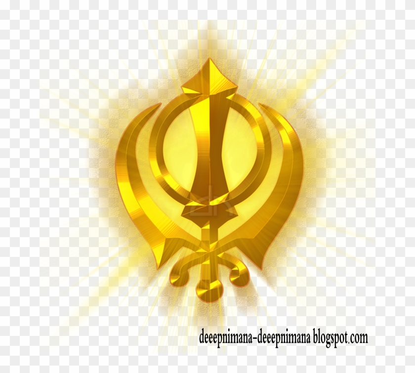 Png Files,khanda,gold Layer Style,sun Rays,golden Style.