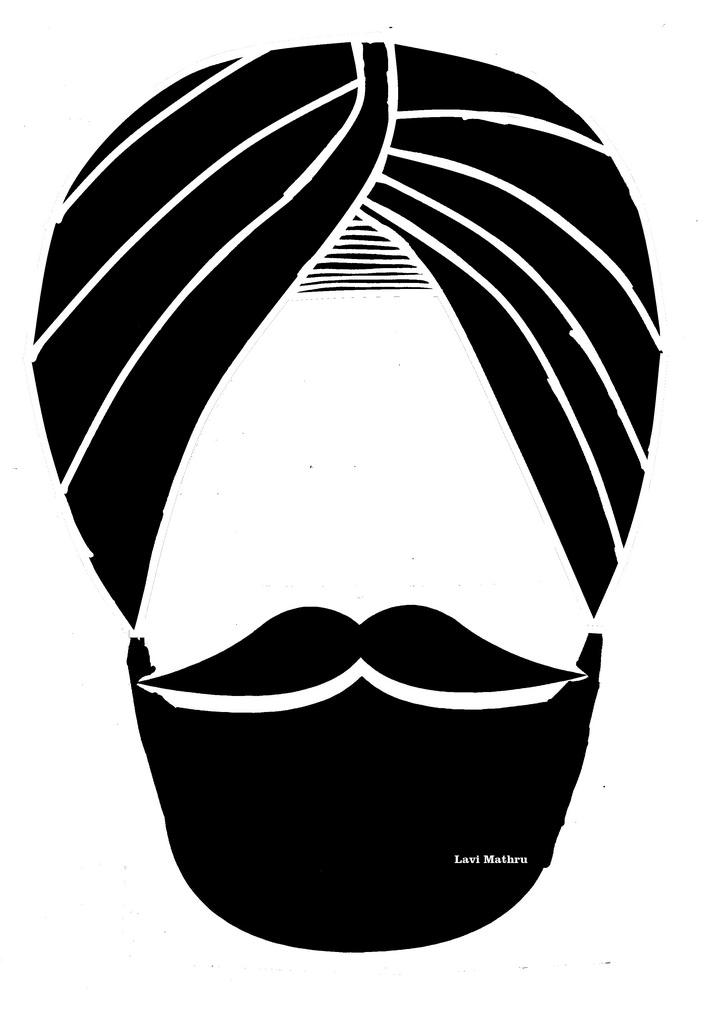 Sikh Mobile Clipart.