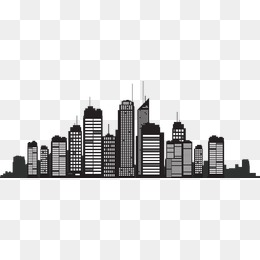 Download Free png Building Silhouette, City Sil.