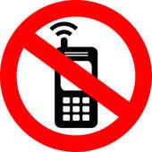 Silence Cell Phone Clipart.