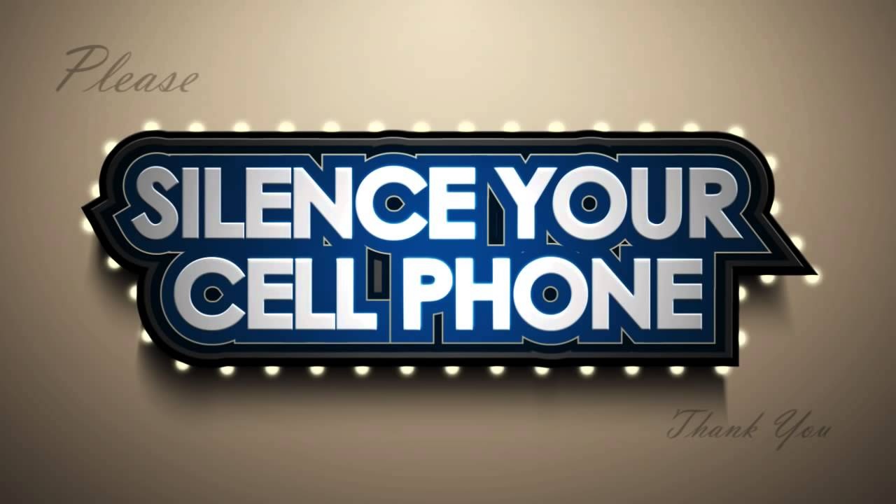 Silence Cell Phone Stroke.