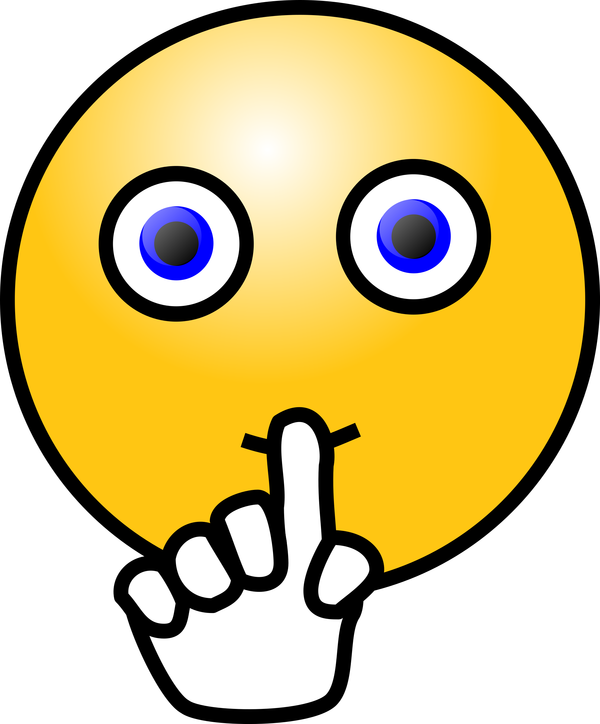 Collection of Silence clipart.