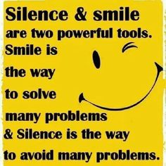 Silence quotes clipart.