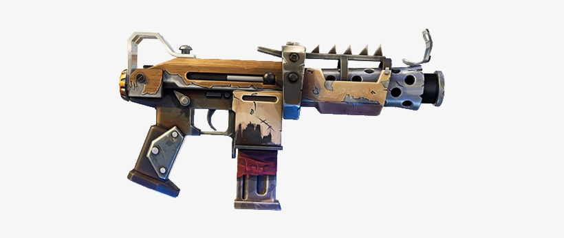 Silenced smg fortnite png Transparent pictures on F.