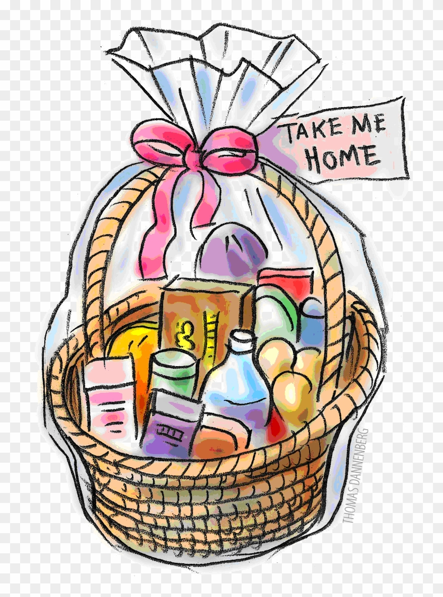 Thanksgiving Raffle Basket Clipart 17.