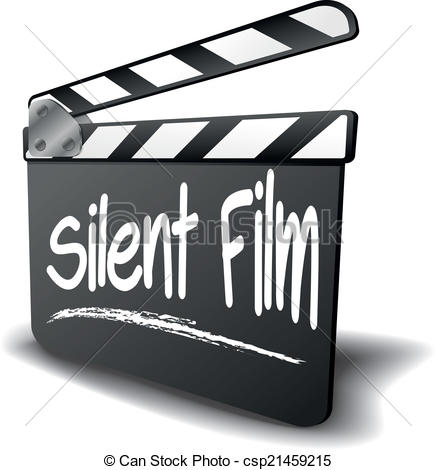Silent film Vector Clipart Royalty Free. 118 Silent film clip art.