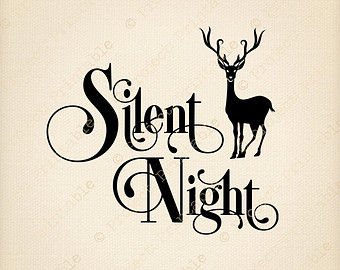 Gallery For > Silent Night Christmas Clipart.