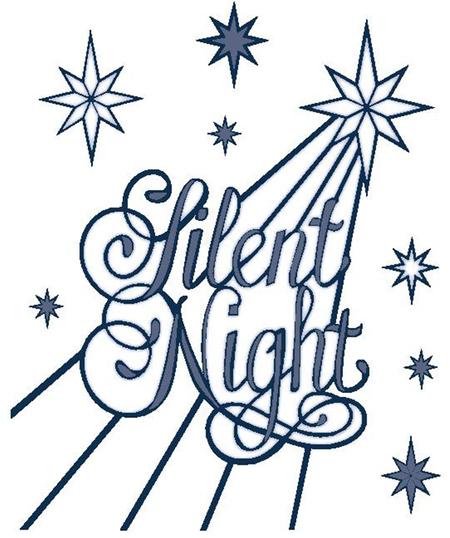 Sue Wilson Dies Festive Collection Silent Night CED3032.