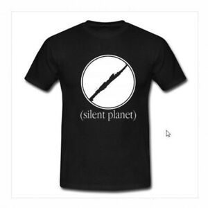 Details about SILENT PLANET World Tour Tshirt Black New Men\'s T.