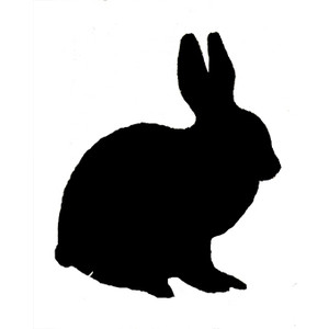 Silhouette animal clipart #13