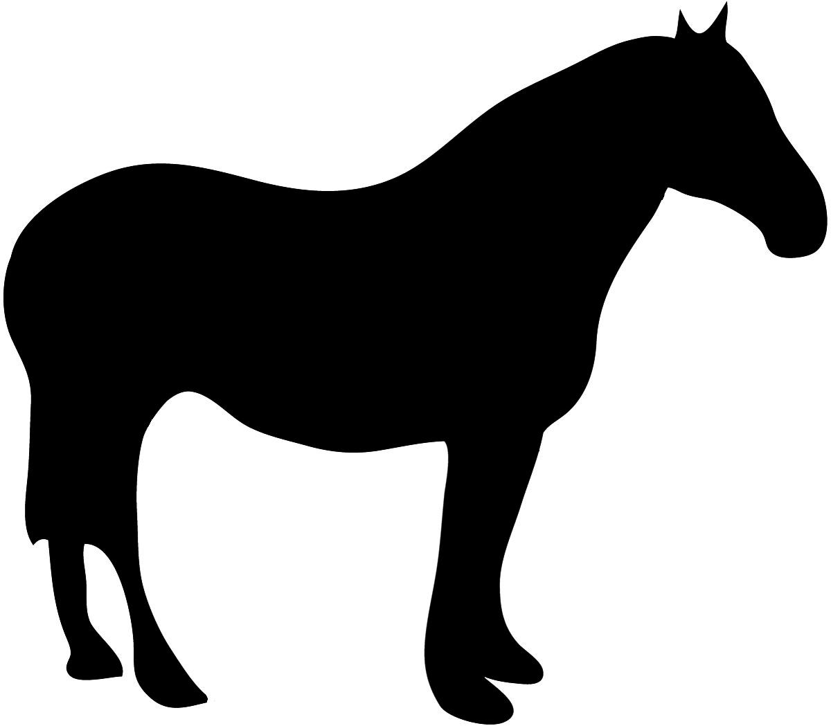 Clip Art Silhouette Of Animals Clipart.