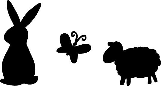 Simple Animal Clipart.