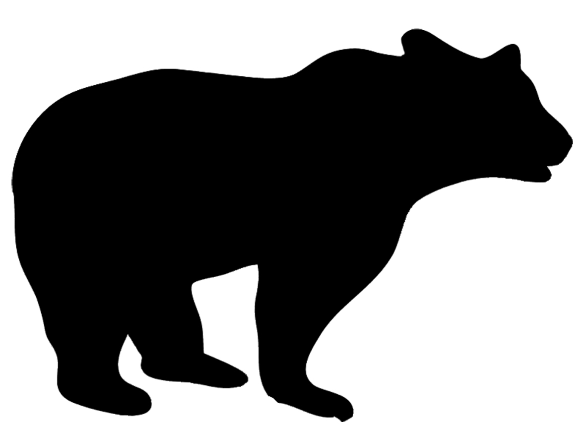 Silhouette animal clipart #12