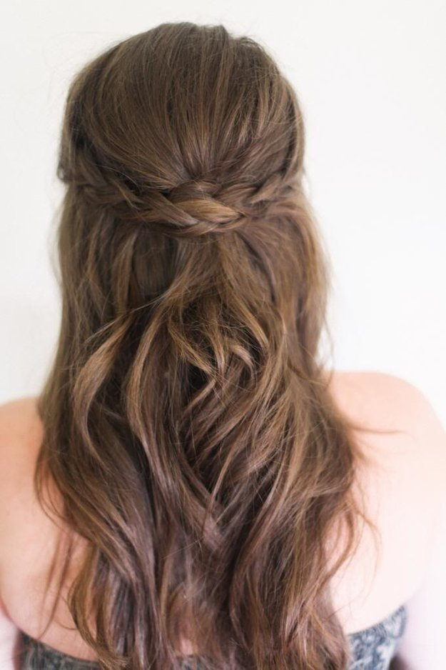 How To Match Your Hairstyle To Your Dress.
