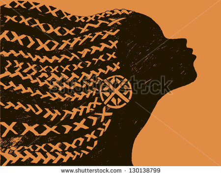 African Braids Stock Images, Royalty.
