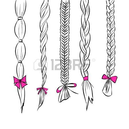 334 Braided Hair Cliparts, Stock Vector And Royalty Free Braided.