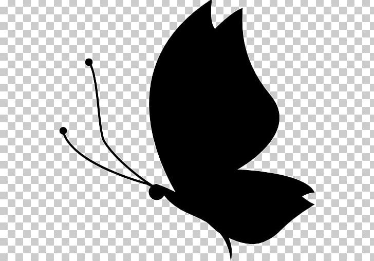 Butterfly Silhouette PNG, Clipart, Black, Black And White.