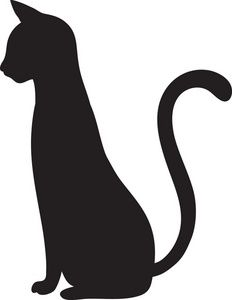 17 Best ideas about Cat Silhouette Tattoos on Pinterest.